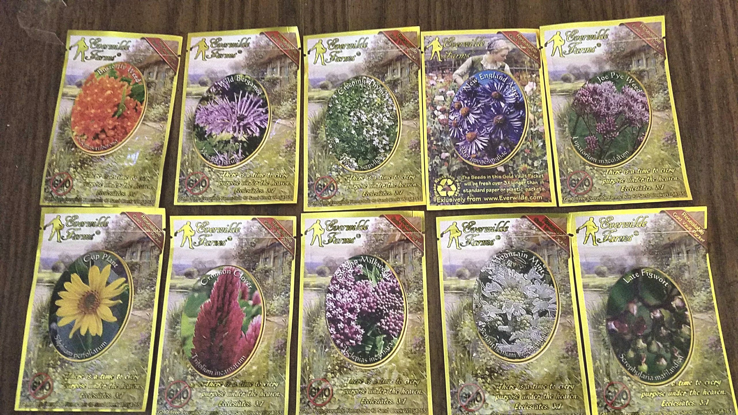 Wildflower seeds.